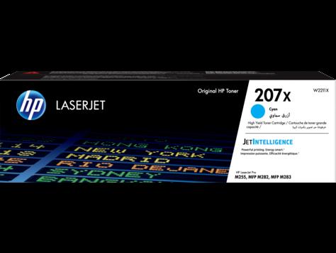 HP W2211X Картридж лазерный HP 207X голубой ресурс 2450 стр.(увеличенной емкости)