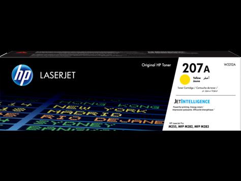 HP W2212A Картридж лазерный HP 207A желтый ресурс 1250 стр.