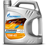 Масло моторное Газпром Standart 15W-40 канистра 5л., фото 2
