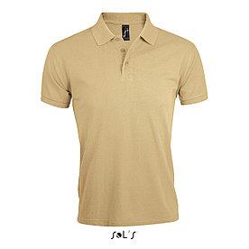Мужская рубашка поло Prime, бежевая