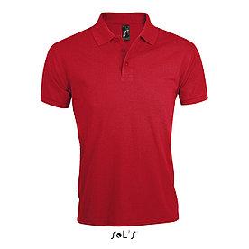 Мужская рубашка поло Prime, красная