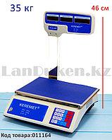 Электронные торговые весы 35 кг ACS-40