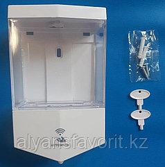Диспенсер сенсерный для антисептика и жидкого мыла.700 мл.черный/белый
