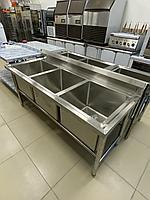 Мойки производственные Глубокая раковина 3 мойки, фото 1