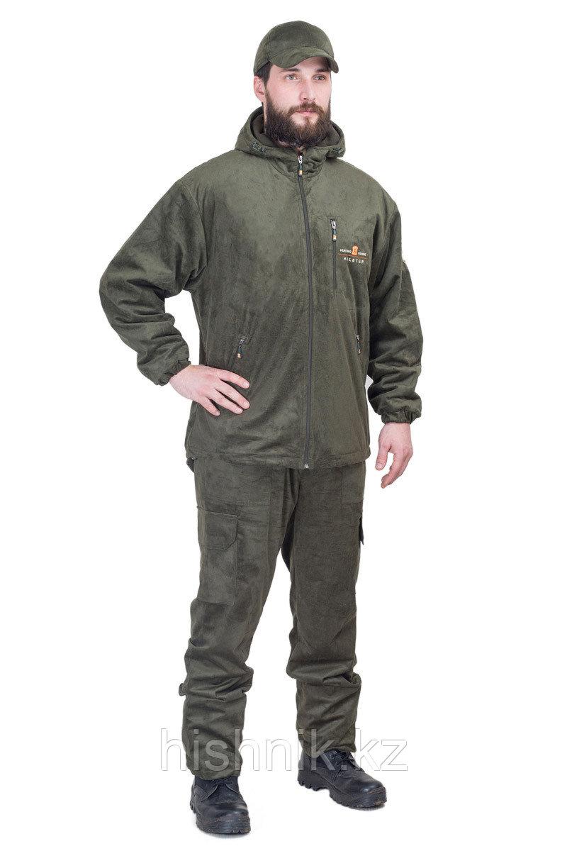 Костюм Скаут-У (куртка, брюки) / иск.замша / олива