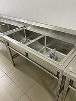 Мойки производственные двойная, фото 1