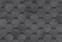 Гибкая черепица 3 м2 / упак Финская Соната Серый однослойная SHINGLAS, фото 1