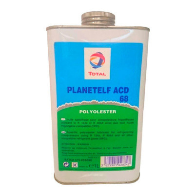 Масло компрессорное, Масло TOTAL PLANETELF ACD 68 (5л)