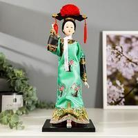 Кукла коллекционная 'Китаянка в национальном платье' 32х12,5х12,5 см