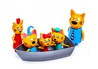 Игровые фигурки Три Кота, семья
