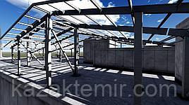 Техническая база завода по производству металлоконструкций