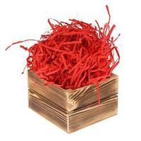 Наполнитель бумажный красно-кирпичный, 1000 г