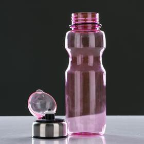 Бутылка для воды 780 мл, с соской и крышкой, микс, 6.5х24.5 см - фото 7