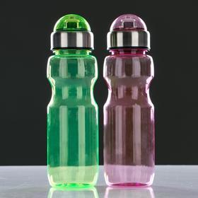 Бутылка для воды 780 мл, с соской и крышкой, микс, 6.5х24.5 см - фото 8
