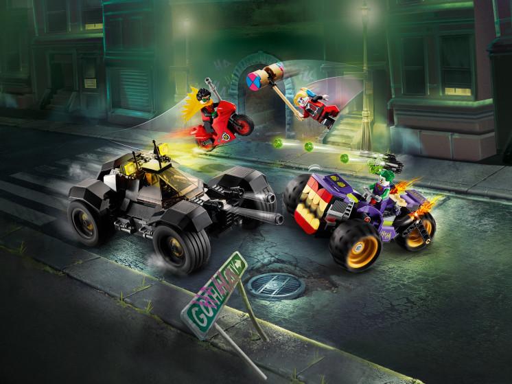 LEGO Super Heroes 76159 Побег Джокера на трицикле, конструктор ЛЕГО - фото 1