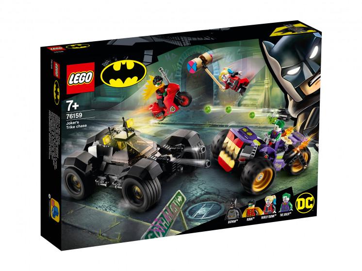 LEGO Super Heroes 76159 Побег Джокера на трицикле, конструктор ЛЕГО - фото 2