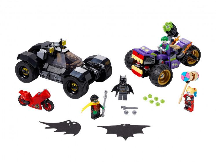 LEGO Super Heroes 76159 Побег Джокера на трицикле, конструктор ЛЕГО - фото 3