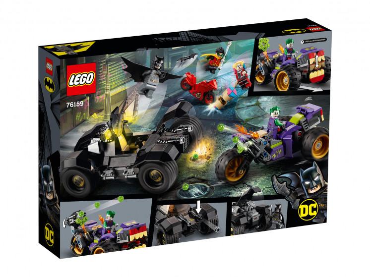 LEGO Super Heroes 76159 Побег Джокера на трицикле, конструктор ЛЕГО - фото 4
