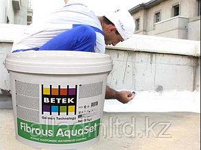 Гидроизоляция с фиброволокном - 20 кг FIBROUS AQUASET