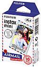 Пленка Fujifilm instax mini Airmail для INSTAX MINI (10 штук в упаковке)