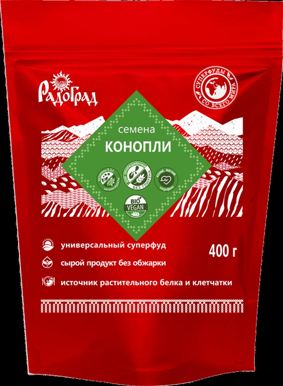 """Семена конопли """"Радоград"""" 400 гр"""