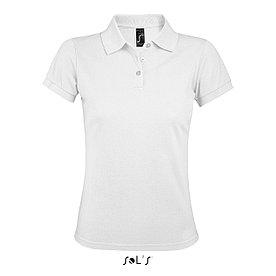 Женская рубашка поло Prime, белая