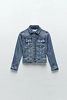 ZARA Женская куртка джинсовая 04979021406053