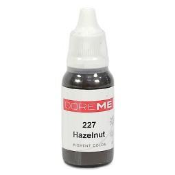 Doreme 227 Hazelnut, 15 мл (0.5oz), 1 шт.Пигмент для бровей