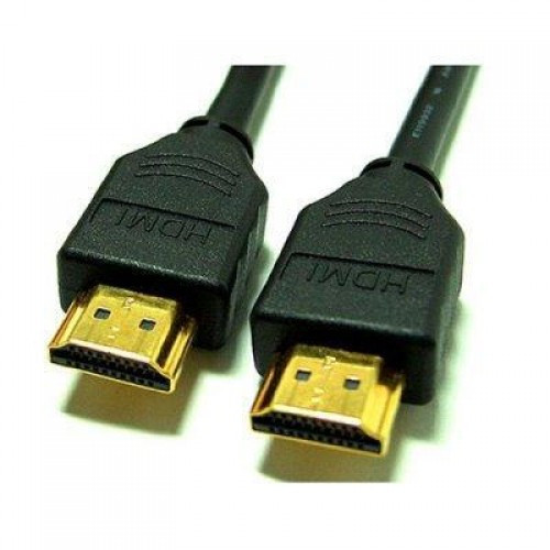Кабель HDMI-HDMI Gold-Plated (5м)