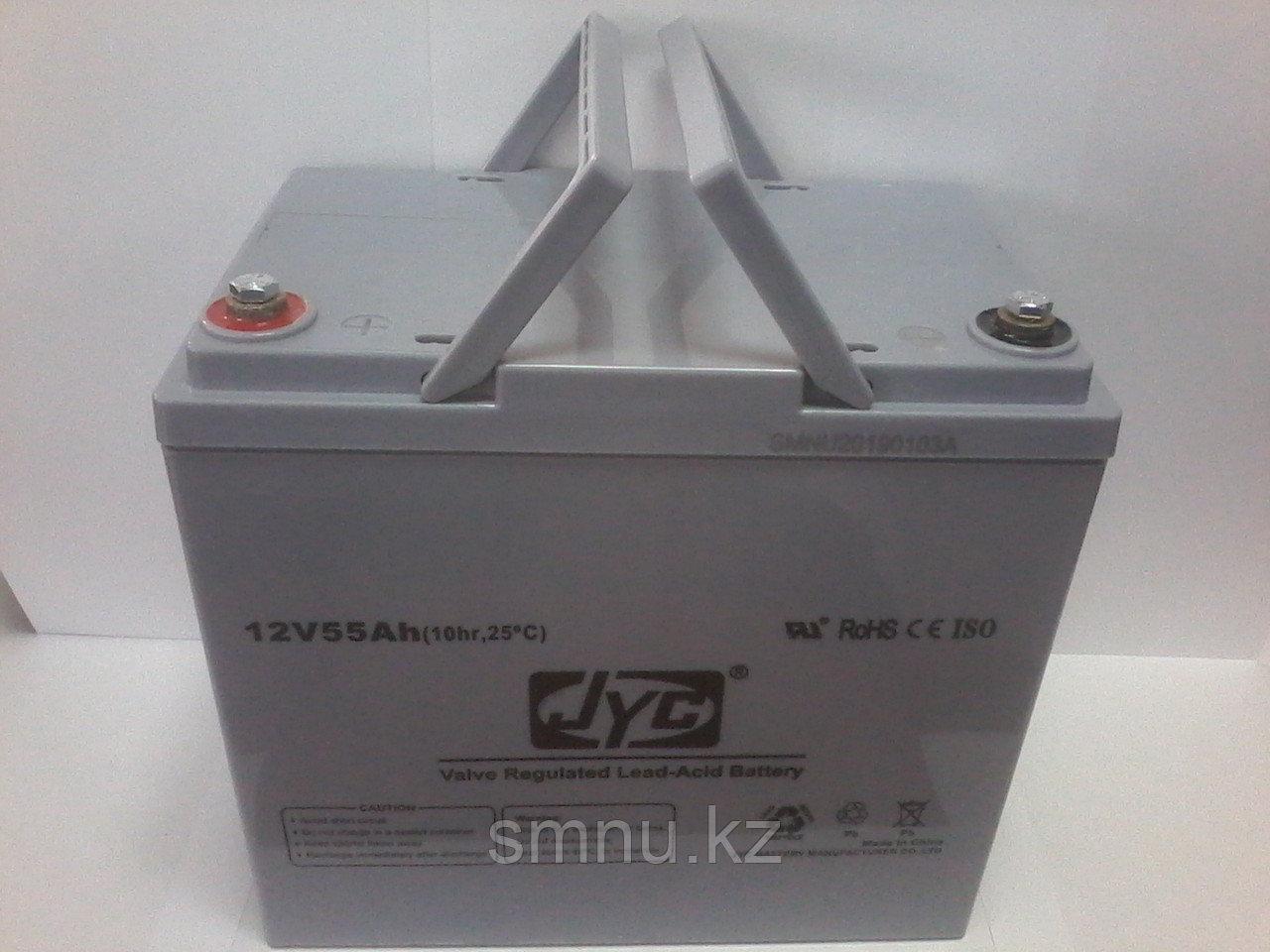 Аккумулятор   JYC  12B  55Ah