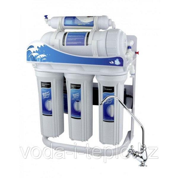 Фильтр для воды AquaWater 5-ступенчатый RO-600G-P01 (система обратного осмоса без бака)