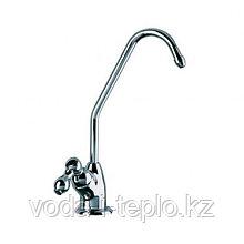 Хромированный одинарный кран для чистой воды GF-03C