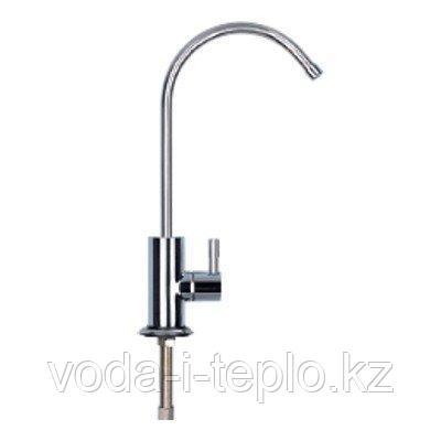 Хромировнный двойной кран для чистой воды GF-06