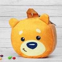 Рюкзак детский 'Мишка косолапый', 18 х 18 см