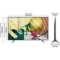 Телевизор Samsung QE75Q70TAUXCE QLED UHD Smart Black, фото 4
