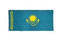 Флаг РК 1*2 м (флажная сетка/полиэстер)