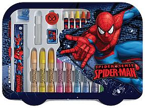 Набор для творчества. (30 предметов).  Spider-man
