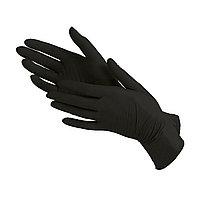 Перчатки нитриловые- неопудренные, размер- L 100шт/уп