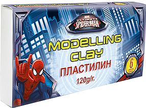Пластилин, 6 цветов. Spider-man Classic