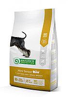 Сухой корм для собак мелких пород старше 7 лет Nature's Protection Mini Senior Poultry (мясо птицы)