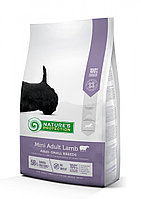 Сухой корм для собак мелких пород Nature's Protection Mini Adult Lamb (с ягненком)
