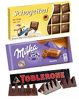 Шоколадные плитки, батончики