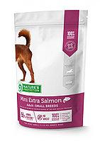 Сухой корм для собак мелких пород Nature's Protection Mini Extra Salmon (лосось)