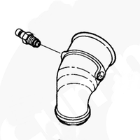 Ниппель впускного патрубка Cummins M11 3042618