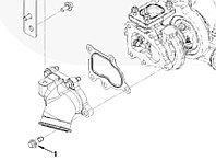 Болт крепления выпускного патрубка турбокомпрессора Cummins ISF 2.8 3393717