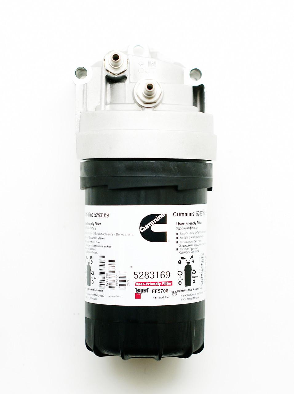 Головка топливного фильтра  Cummins ISF 3.8  FH22037/5262312
