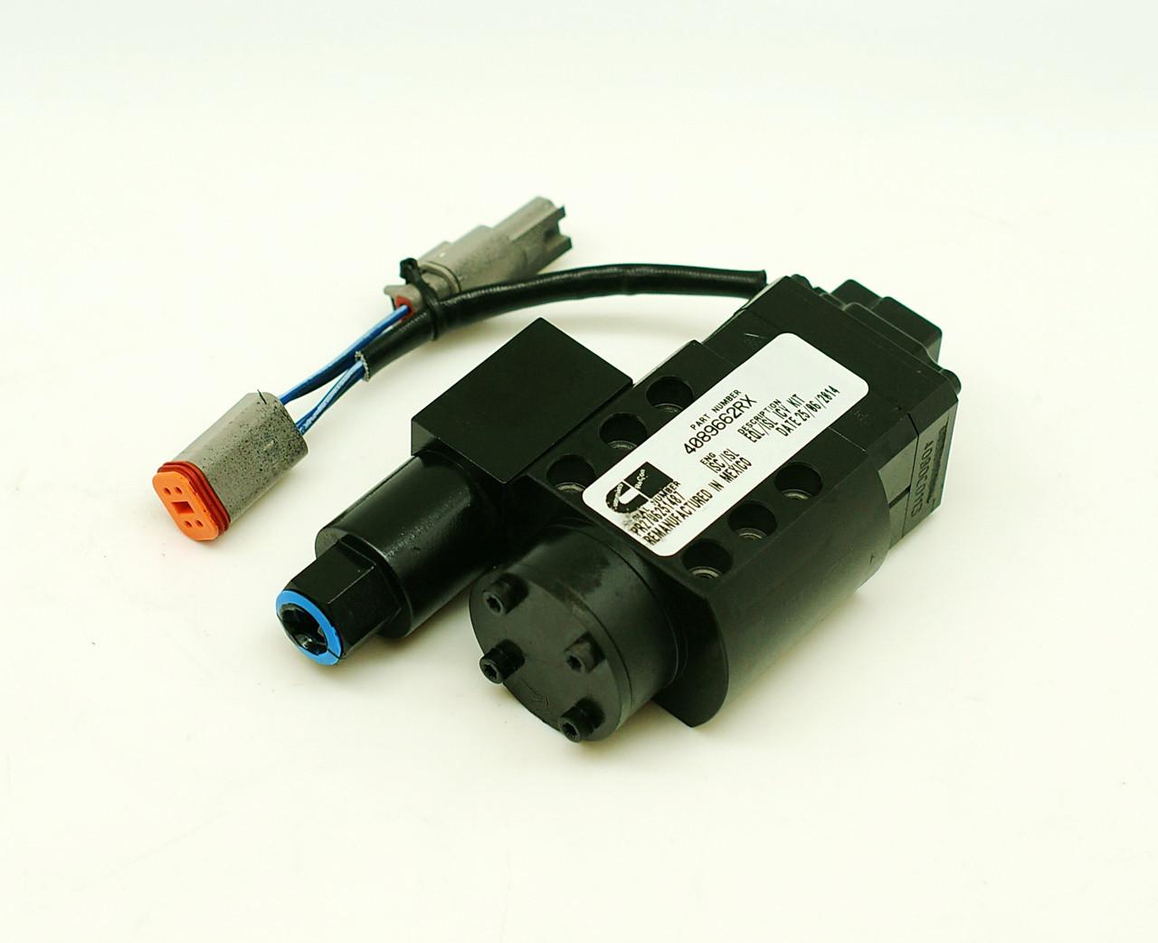Клапан электромагнитный Cummins ISC,QSC  4089662RX