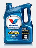 Моторное масло Valvoline Premium Blue 15W-40 5 литров.
