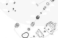 Кольцо уплотнительное ТНВД Cummins ISL9, QSL 3867640