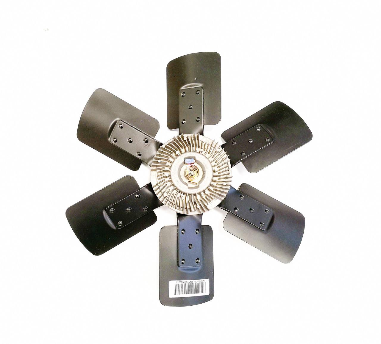 Крыльчатка вентилятора с вискомуфтой Cummins B Series 4931500